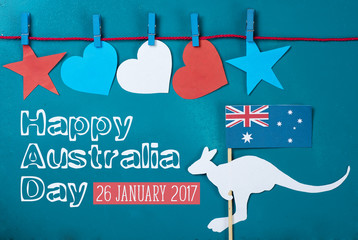Celebrate australia day holiday on january 26 with a happy australia see more m4hsunfo