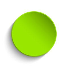 Green button on white background
