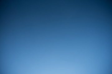 Blue , Dark and clear sky no cloud