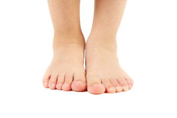 Childs feet
