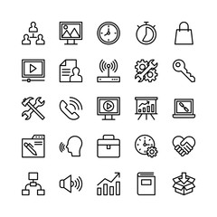 Digital Marketing Vector Icons 3