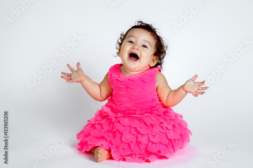 Super Cute Baby Surprise Stock Photo And Royalty Free Images On