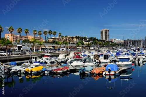 Port of las palmas with small boats in north gran canaria canary islands stock photo and - Port of las palmas gran canaria ...