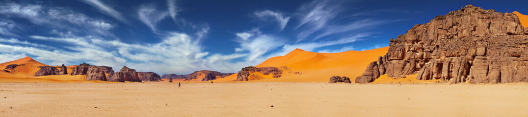 Canvas Prints Drought Sahara Desert, Algeria