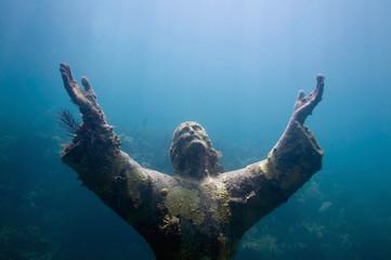 Underwater Religious Enlightenment Wall mural