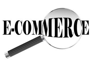 E Commerce Magnifying Glass