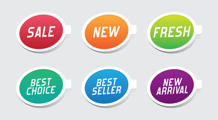 Colorful Promotional Labels