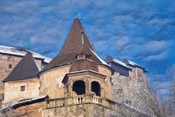 Orava Castle ( Oravsky hrad ). Slovakia.