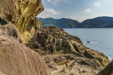japanese landscape - onigajo - kumano - mie