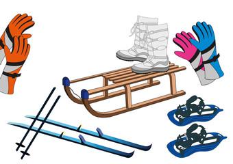 attrezzatura sport invernale