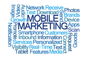 Mobile Marketing Word Cloud