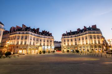 Place Graslin de nuit - Nantes centre ville  Fotomurales