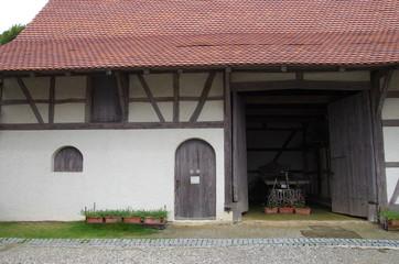 ヨーロッパの田舎の古い倉庫