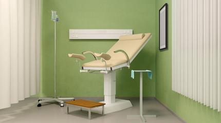 Training Center Gynecology. 3D rendering