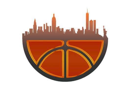 logo New York city basketball