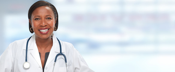 African American Doctor woman.