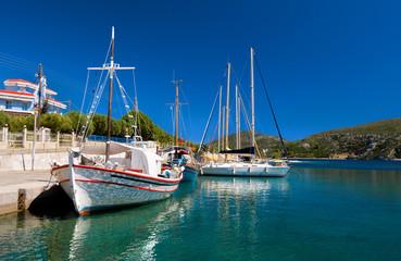 Greece, fishermen boats