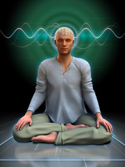 Meditation brainwaves