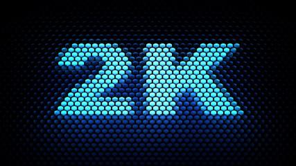 2K - display resolution