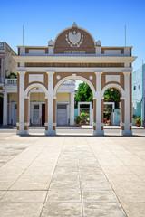 Triumphbogen im Parque José Marti, Cienfuegos, Kuba