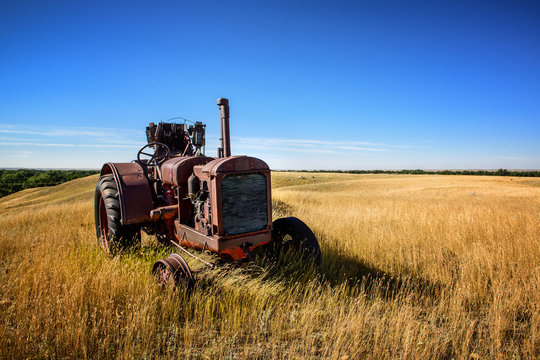 Retired Montana Tractor
