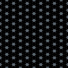 Dark black and little small blossom floral design seamless background