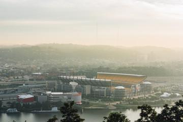 Heinz Field Pittsburgh at Sunrise