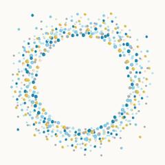 背景 ブルー 円形