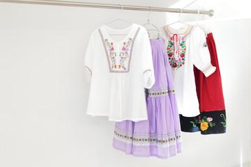 刺繍飾り ダンス衣装