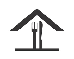 restaurant house icon