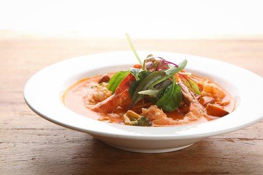 shrimp rose pasta