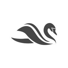 Swan Icon - vector Illustration