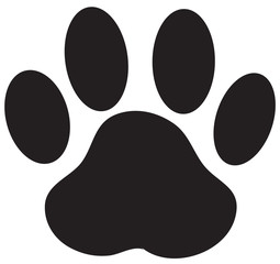 Paw Print Dog Paw Vector