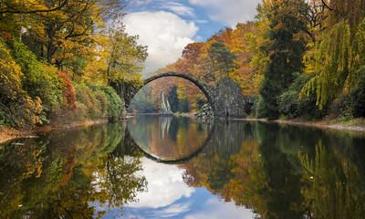 Devil's Bridge,Kromlau,Germany
