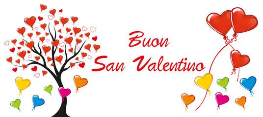 banner auguri Buon San Valentino
