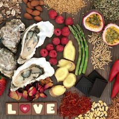 Valentines Day Aphrodisiac Food Promotes Sexual Health