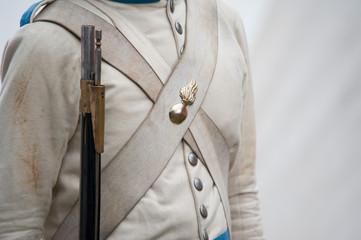 Historische Uniform aus der österreichischen Kaiserzeit