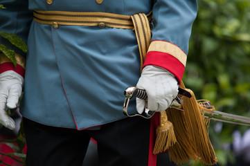 Historische Uniform aus der Kaiserzeit