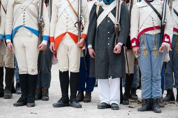 Historische Uniformhosen
