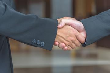 Shake hand.