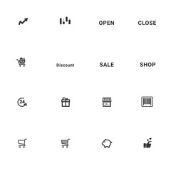 Business and Shop Icon