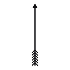Arrow icon, simple style