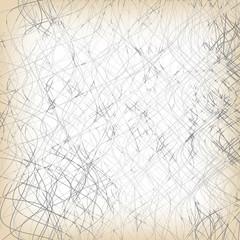 Vector abstract hand written backdrop
