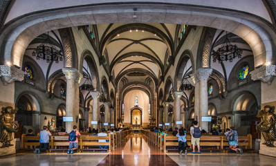 Manila Cathedral Interior #2