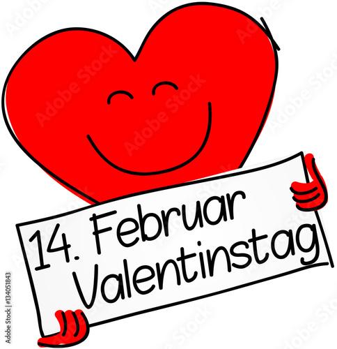 Februar Valentinstag