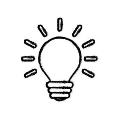 Bulb energy light icon vector illustration graphic design