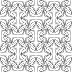 Geometric abstract pattern. Seamless vector background