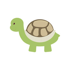 turtle toy pet funny icon vector illustration eps 10