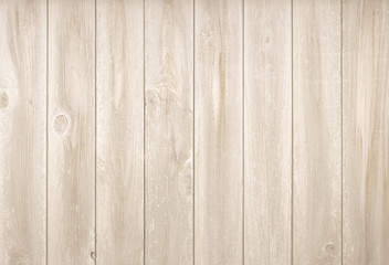 Light neutral flat wood plank background. Wall paneling or wooden floor.