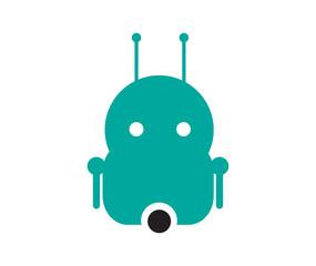 Cyber Robot Mascot Design